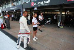 Sébastien Loeb, Citroen C-Elysée WTCC, Citroen Total WTCC et sa femme