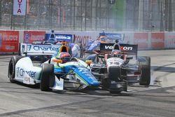 Simon Pagenaud, Schmidt Peterson Hamilton Motorsports Honda kazası