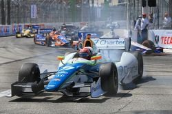 Simon Pagenaud, Schmidt Peterson Hamilton Motorsports Honda accidenté