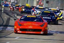#61 R. Ferri Motorsports 法拉利 458 GT3 Italia: 安东尼·拉扎罗