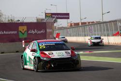 Crash, Mehdi Bennani, Honda Civic WTCC, Proteam Racing