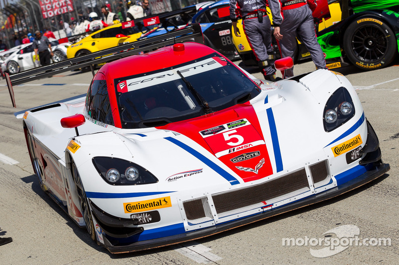 #5 Action Express Racing 雪佛兰克尔维特 DP: 若·巴博萨, 克里斯蒂安·费迪帕尔迪