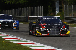 #4 Belgian Audi Club Team WRT Audi R8 LMS Ultra: Christian Kelders, Yves Weerts, Jean-Luc Blanchemai