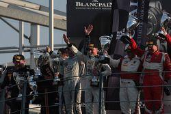 Pro-Cup pódio: vencedores: Gregoire Demoustier, Alexandre Prémat, Alvaro Parente