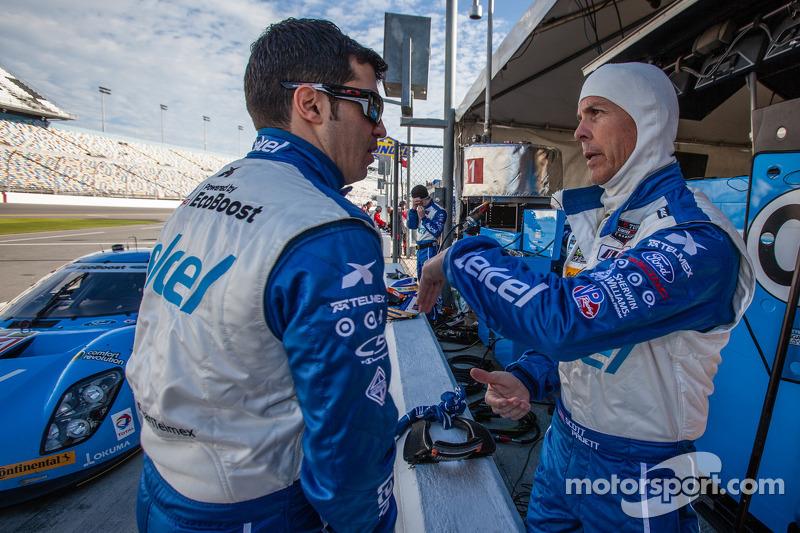Memo Rojas e Scott Pruett
