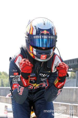 Il vincitore della gara: Carlos Sainz Jr.