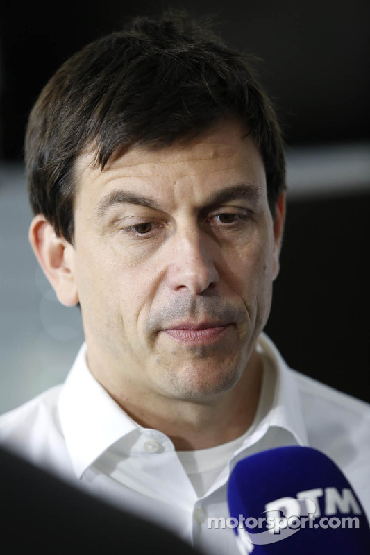 Toto Wolff, diretor esportivo Mercedes-Benz