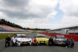 三家制造商:宝马M4,奥迪RS5 DTM,梅赛德斯C-Coupe与1984年DTM冠军沃克尔·斯图斯克,宝马Schnitzer车队车手马丁·汤姆奇克,奥迪菲尼克斯车队车手麦克·洛克菲勒,1991年DT
