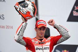3ème: Andrea Dovizioso, Ducati Team