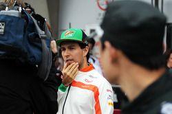 Sergio Perez, Sahara Force India F1 com a mídia