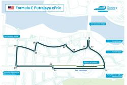 Le circuit de Putrajaya