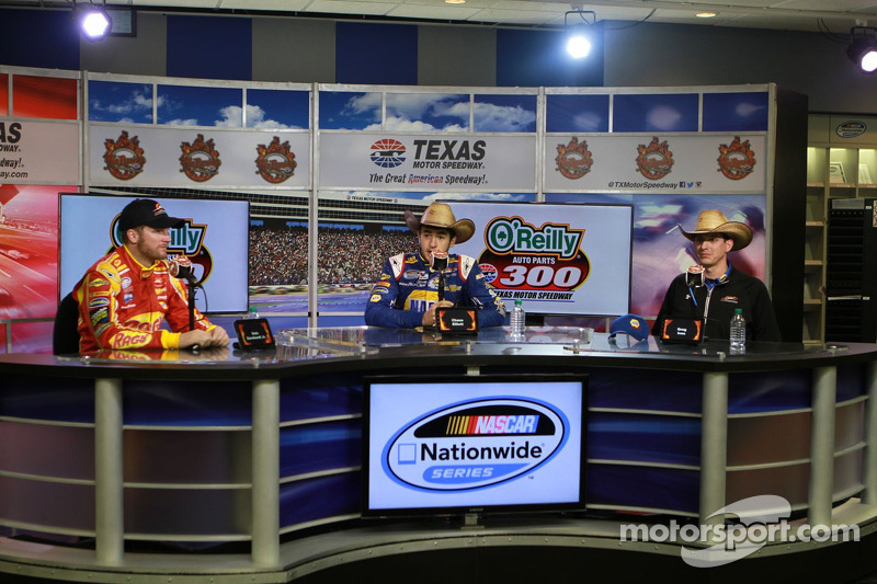 Dale Earnhardt Jr., Chase Elliott, Greg Ives