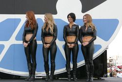 The Great American Sweethearts at driver introductions