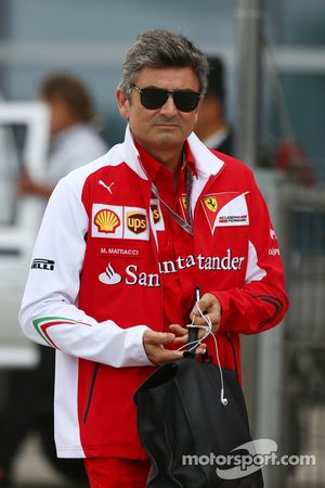 Marco Mattiacci, Ferrari Direc