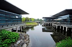 Fahrerlager am Shanghai International Circuit