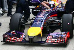 Frontflügel: Daniel Ricciardo, Red Bull Racing RB10