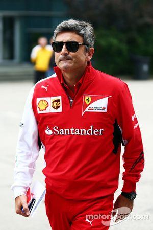 Marco Mattiacci, Ferrari, Teamchef