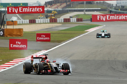Verbremser: Romain Grosjean, Lotus F1 E22