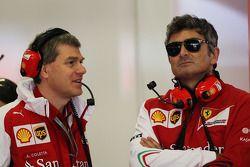(Links naar rechts): Antonello Coletta, Ferrari Corse Clienti