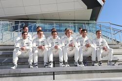 Neel Jani, Romain Dumas, Marc Lieb, Brendon Hartley, Timo Bernhard, Mark Webber