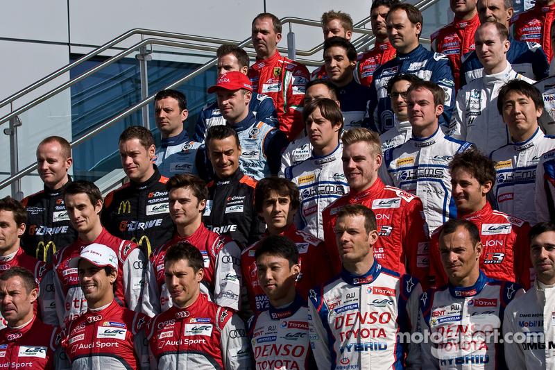 WEC 2014 Foto pilotos