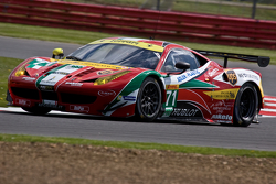#71 AF Corse Ferrari 458 Italia: Davide Rigon, James Calado