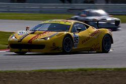 #95 AF Corse Ferrari F458 Italia GT3: Adrien de Leener, Cedric Sbirrazzuoli
