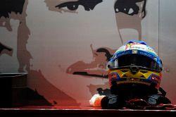 O capacete de Fernando Alonso, Ferrari
