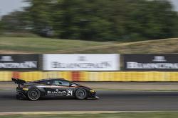 #24 Blancpain Racing Lamborghini FLII: Marc Hayek, Peter Kox