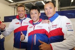 Pole positions Alexander Wurz, Kazuki Nakajima, Stéphane Sarrazin