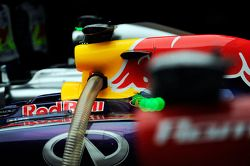 Red Bull Racing RB10 de Sebastian Vettel, Red Bull Racing no parc ferme