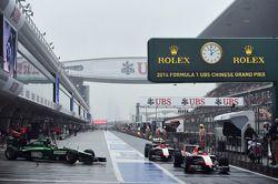 Jules Bianchi, Marussia F1 Team MR03; Max Chilton, Marussia F1 Team MR03
