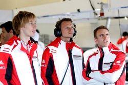 Brendon Hartley, Marc Lieb, Timo Bernhard