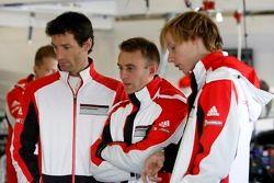 Mark Webber, Timo Bernhard, Brandon Hartley
