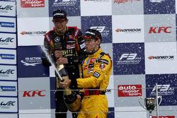 Le vainqueur Tom Blomqvist