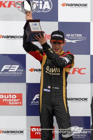 Winner Esteban Ocon