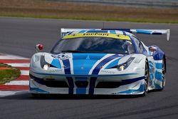 #62 AF Corse Ferrari F458 Italia GT3: Yannick Mallegol, Howard Blank, Jean-Marc Bachelier