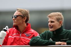 Max Chilton, Marussia F1 Team e Marcus Ericsson, Caterham F1 Team