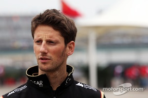 Romain Grosjean, Lotus F1 Team.