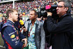 Sebastian Vettel, Red Bull Racing con Kai Ebel, RTL TV