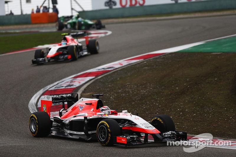 Jules Bianchi, Marussia F1 Takımı MR03.