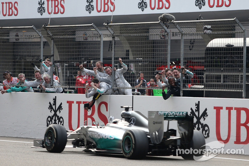 2014 Çin GP: Lewis Hamilton, Mercedes AMG F1