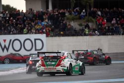 Gianni Morbidelli, Chevrolet RML Cruze TC1, ALL-INKL_COM Munnich Motorsport et Tiago Monteiro, Honda