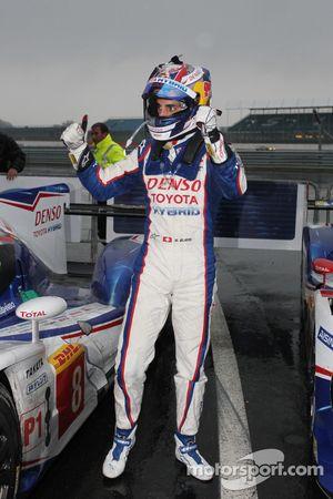 Vencedor da corrida Sebastien Buemi
