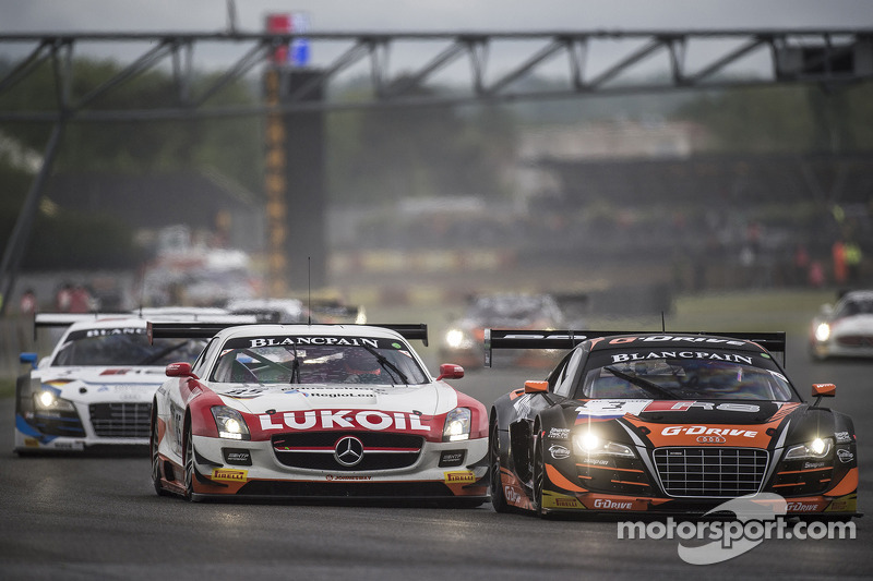 Via: #3 G-Drive Racing Audi R8 LMS Ultra: Stéphane Ortelli, Grégory Guilvert al comando