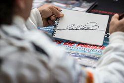 Alex Zanardi autografo