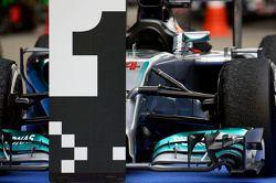 Auto von Lewis Hamilton, Mercedes AMG F1 W05