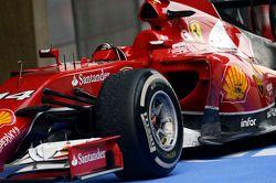 Ferrari F14-T de Fernando Alonso, Ferrari no parc ferme