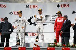 Podium 1. Lewis Hamilton, Mercedes AMG F1; 2. Nico Rosberg, Mercedes AMG F1; 3. Fernando Alonso, Fe