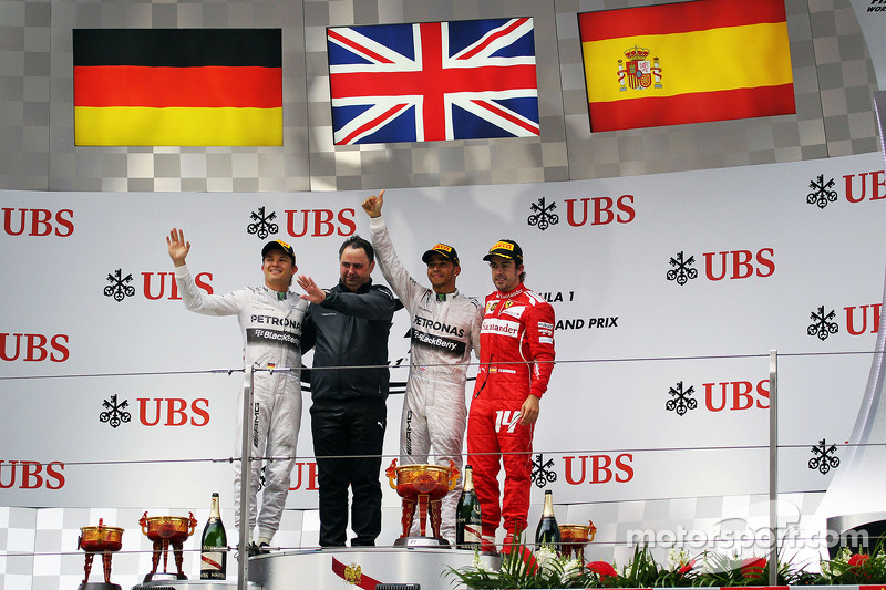 15 (2014) GP de China Segundo lugar